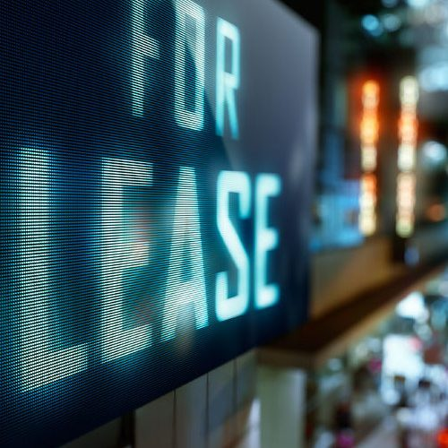 54380363 - led display - for lease signage